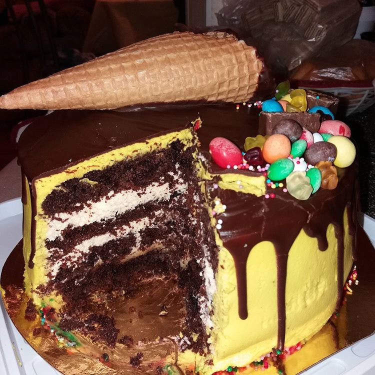 Праздничные торты в домашних условиях с фото 768